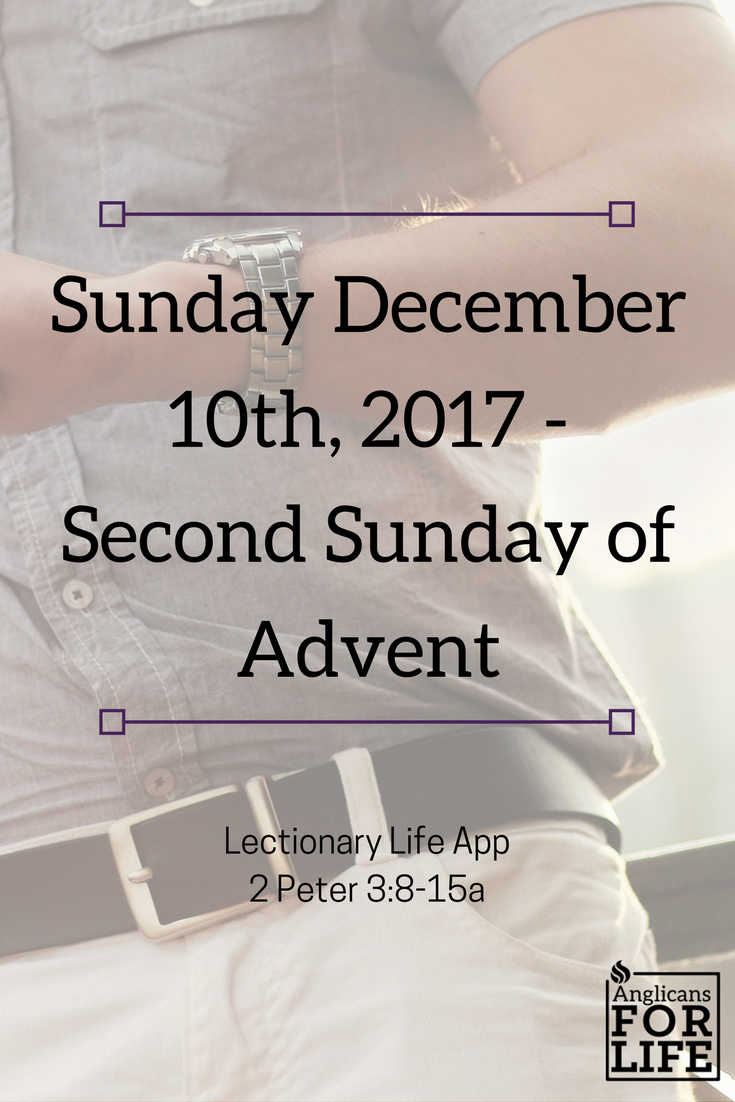 Lectionary teaching Dec 10th, 2017 time