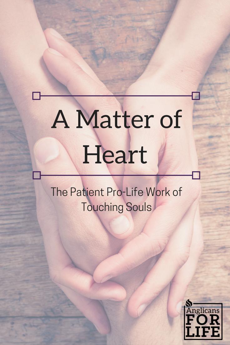 Matter of Heart blog post pro-life