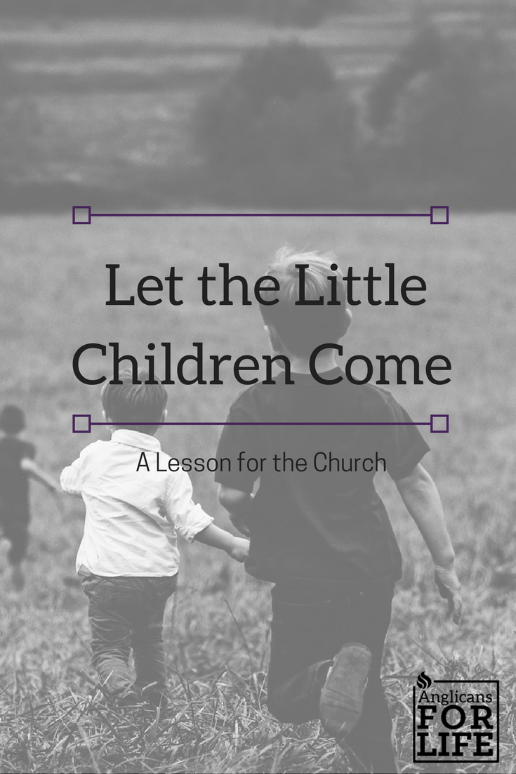 Let the Children Come Blog Post