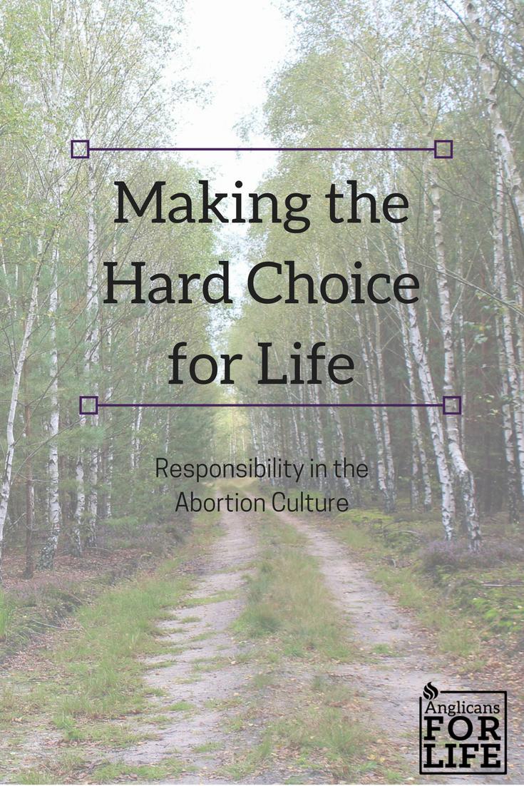 Hard Choice Responsibility blog post