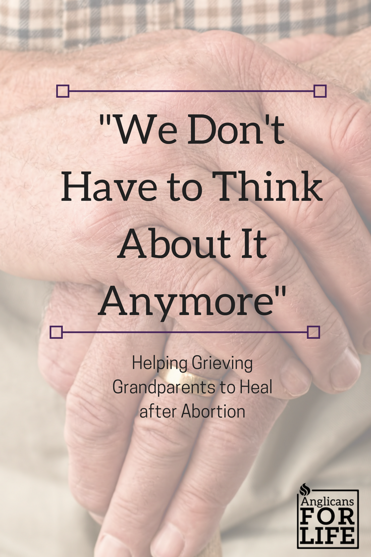 Grieving Grandparents After Abortion Blog Post Pin