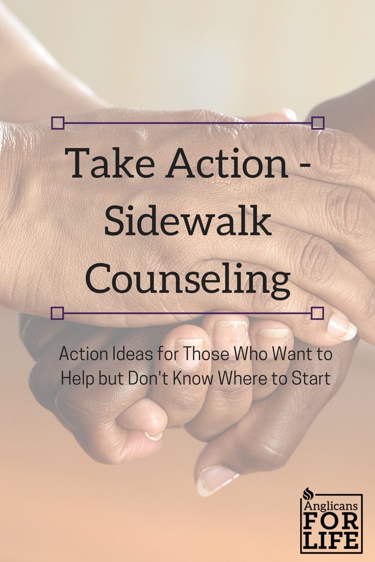 Sidewalk Counseling Take Action Blog
