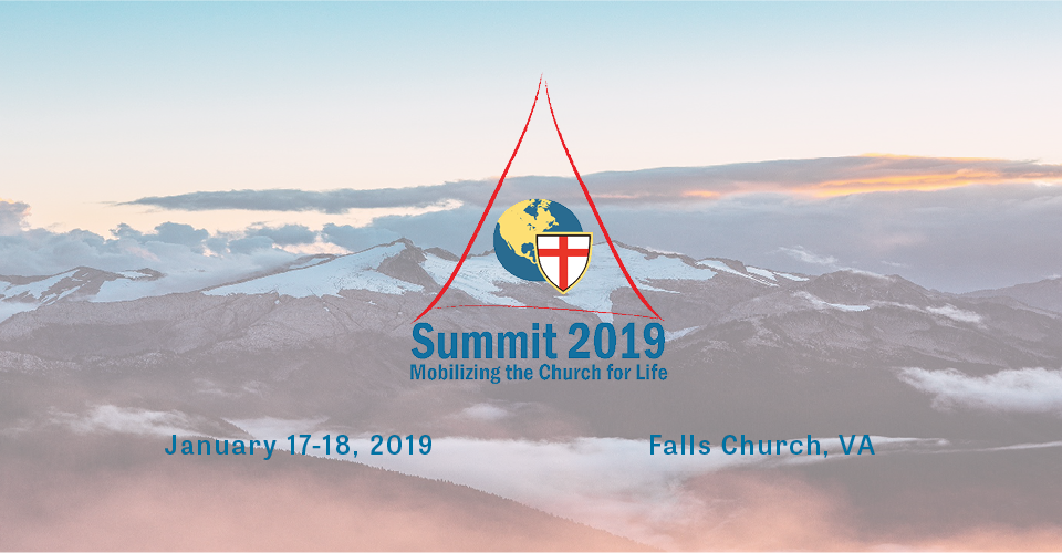 Summit 2019 Mobilizing the Church for Life