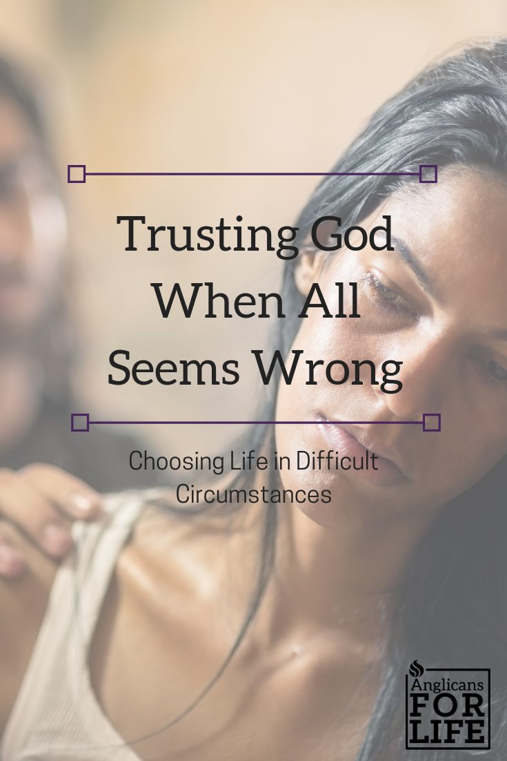 Choosing Life in Difficult Circumstances blog post