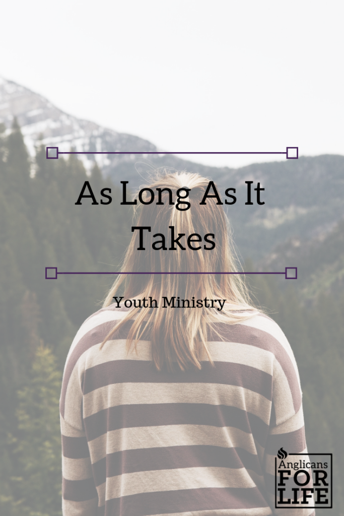 youth ministry as long as it takes blog