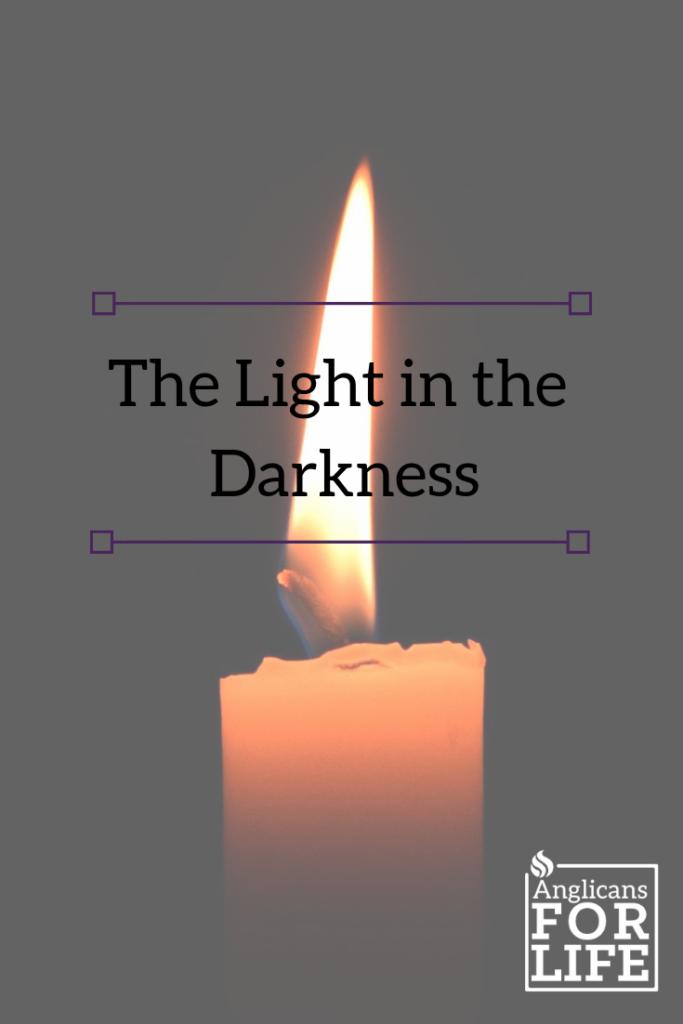 light in darkness blog