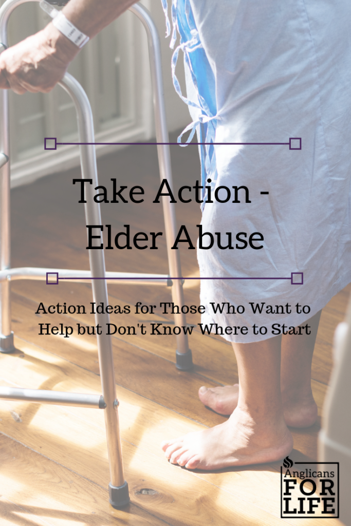 Elder Abuse Take Action Blog Post