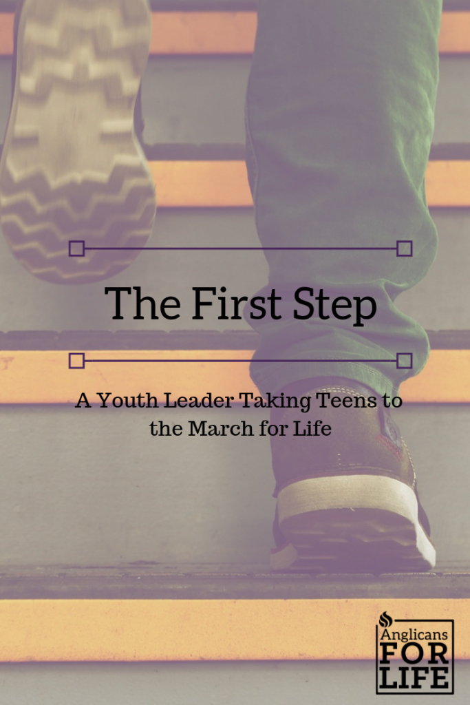 Youth Leader March for Life First Step blog
