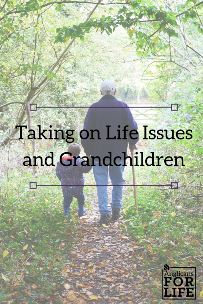 Taking on Life issues and grandchildren blog post