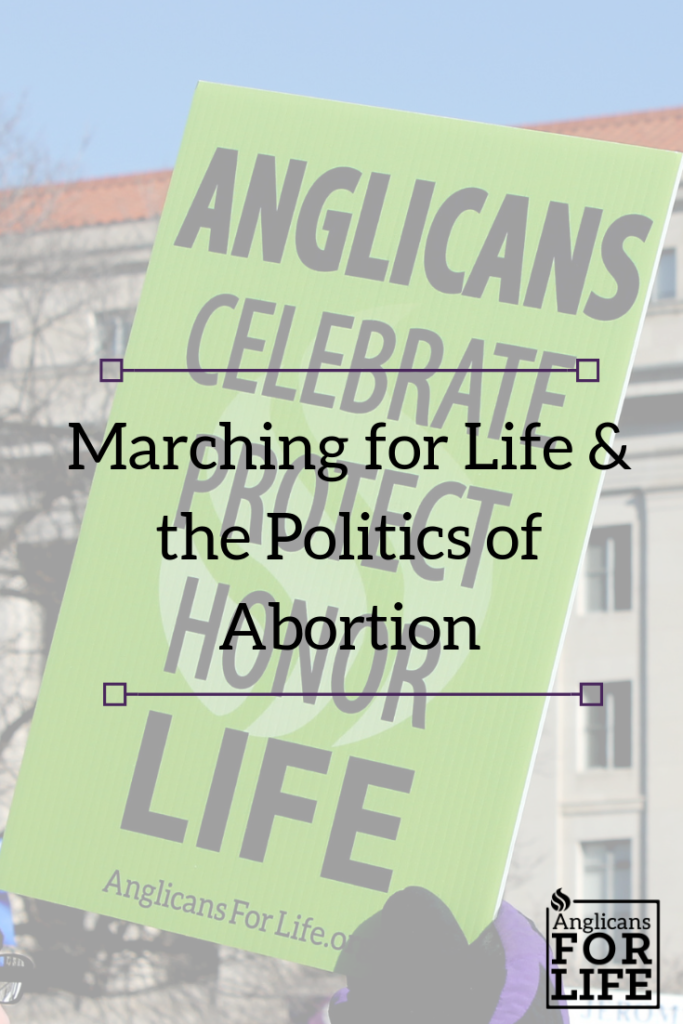 marching and politics of abortion blog post
