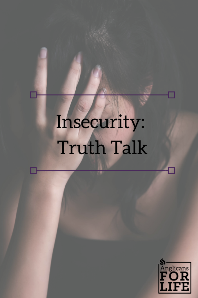 insecurity truth talk blog pin