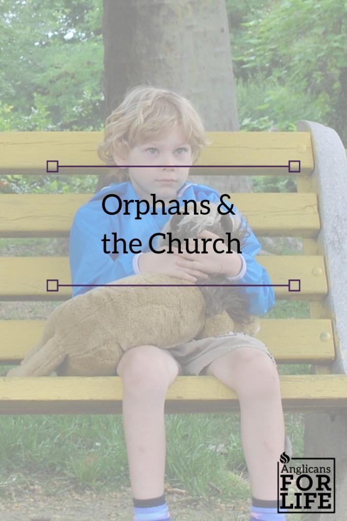 orphans and church blog pin