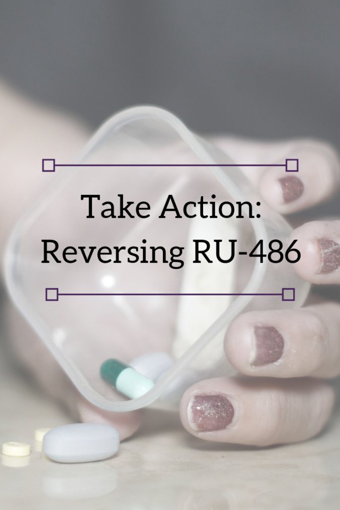 Take Acting Reversing RU-486