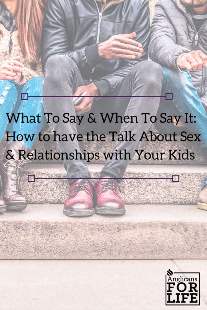 the talk what to say and when to say sex and relationships blog