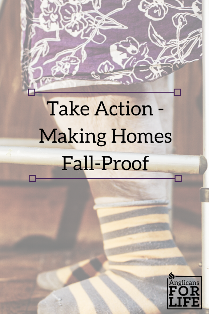 take action elderly fall-proof blog