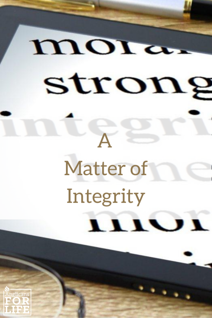 Personal Integrity definition